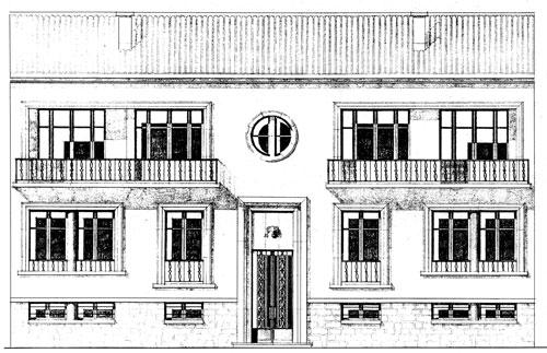 architecture maison 1950. Black Bedroom Furniture Sets. Home Design Ideas