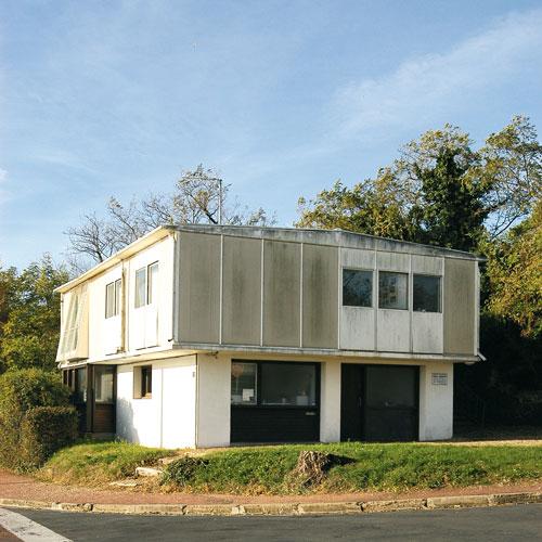 Maison exp rimentale de type 8 x 12 c m moire vive encyclop diqu - Architecture petite maison ...