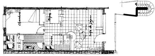 plan appartement mitoyen