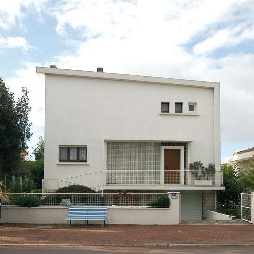 Villa c m moire vive encyclop dique de royan for Architecture 1950