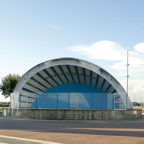 Auditorium - architecture royan 1950