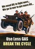 Use less Gas