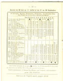 Horaires de tramway in Nouvelles Galeries 1931. coll. docbarthou.