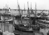 Royan 1900, le port. L'embarcadère