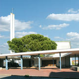 Temple, centre protestant - architecture royan 1950